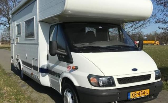 Bully – Ford Chaisson 6 persoons camper