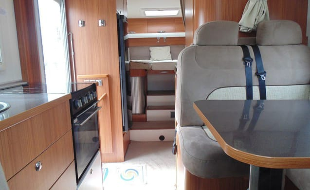 Adria Matrix 680 SL – Luxuriösen und geräumigen Familienwohnmobil mit vielen Extras