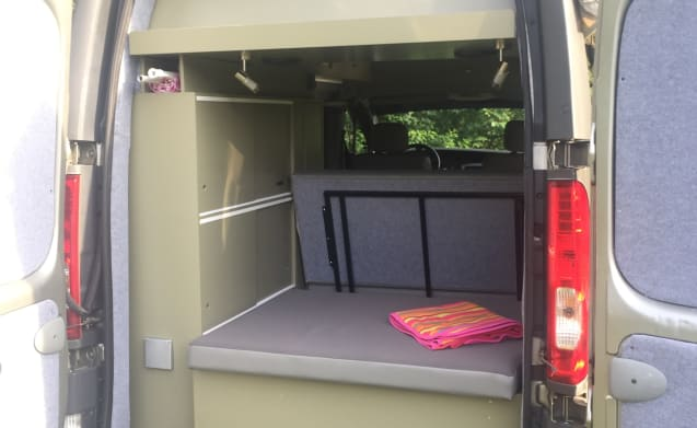 Kiwi – KIWI 2 Renault trafic eco bus camper entirely self-sufficient + parking heater