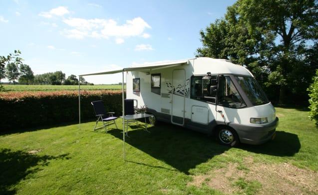 Neat Complete camper Bürstner i574 elegance