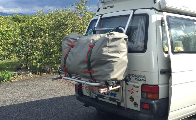 Volkswagen California T4 + front tent with sleeper cab