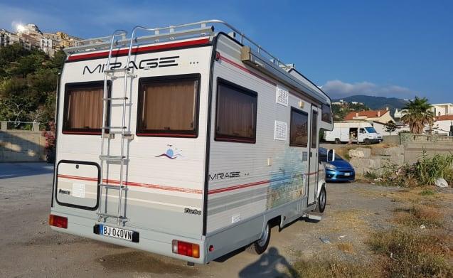 Camper ducato mirage 2.5.turbo diesel