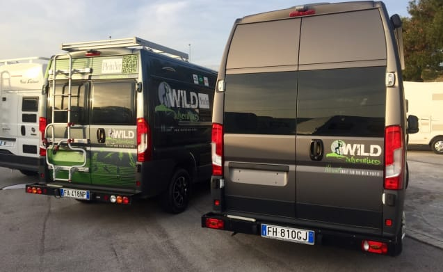 Wild Adventures rent Magellano for your trip on the road