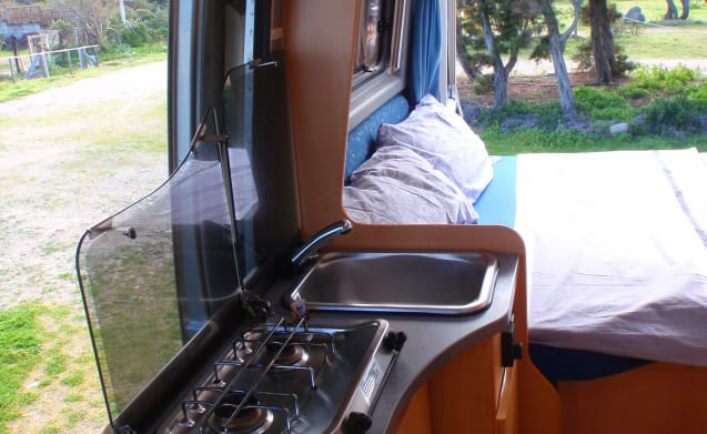 La Farfalla – Pössl panel van with 3 beds