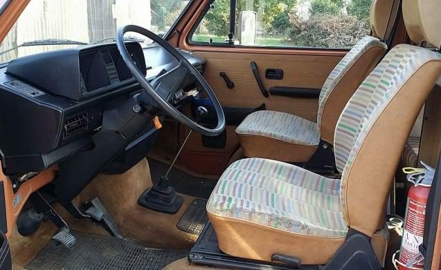 Volkswagen T3 Westfalia Marrone