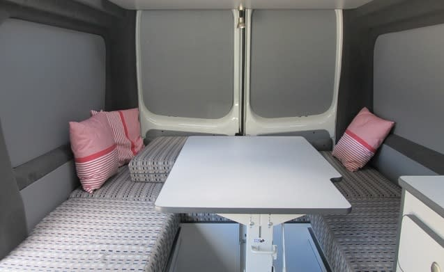 Type 2 – Hip and unique compact bus camper