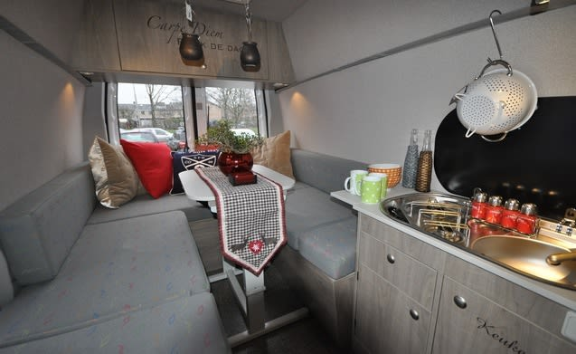 Type 3 – Unique trendy compact bus camper