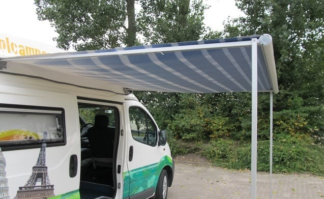 Type 4 – Super compacte bus camper met groot bed