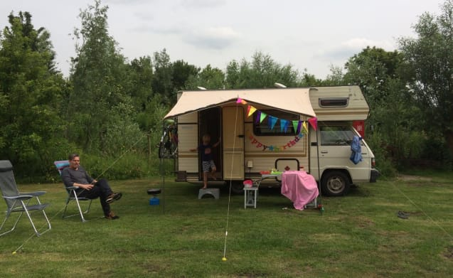 Chickie – Retro camper for families