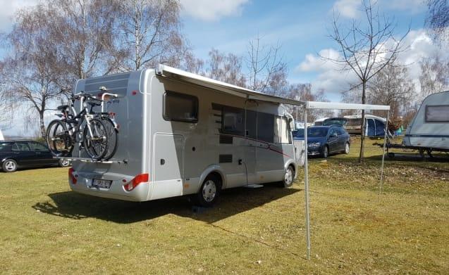 Gezellige Hymer – Praktische luxe Hymer integraal camper