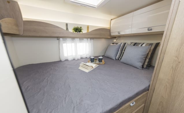 Luxury new Sun Driver camper for 5 persons T550