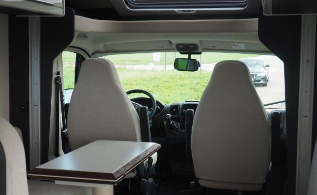 Mobilhome Fiat Granduca for rent
