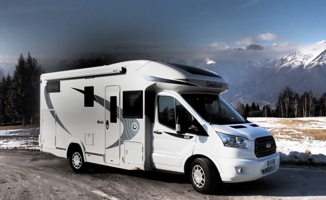 Flash – In the wonderful DOLOMITES, rent our camper ...