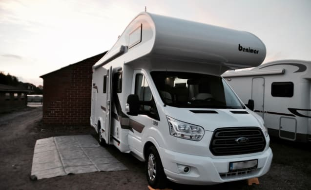 Family motorhome for 5 people