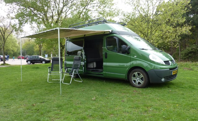 KIWI 3 – KIWI 3 Renault Trafic Eco with its own roof rack