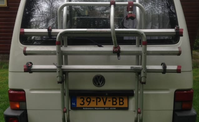 Out with our fine Volkswagen T4 Westfalia!