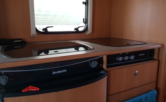 Freedom is now for rent !! Beautiful camper Dethleffs for 4 people.