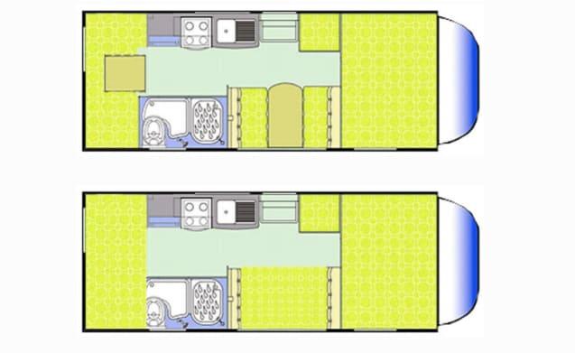 Riviera 181 6 berth Motorhome