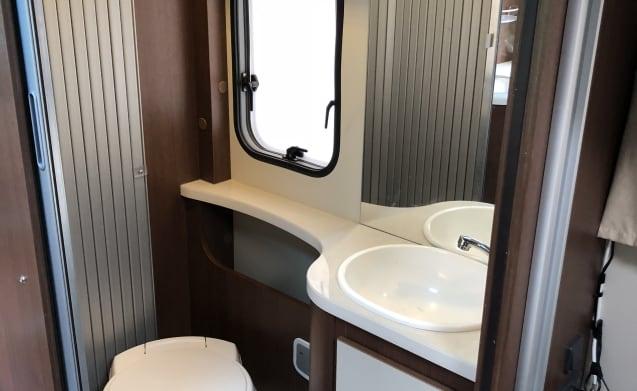 Camper 1 – Very spacious luxury 4 person camper