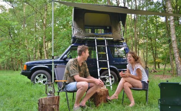 #VanHetPad – ~ Tough Land Rover Discovery 2000 mit DACHZELT! ~