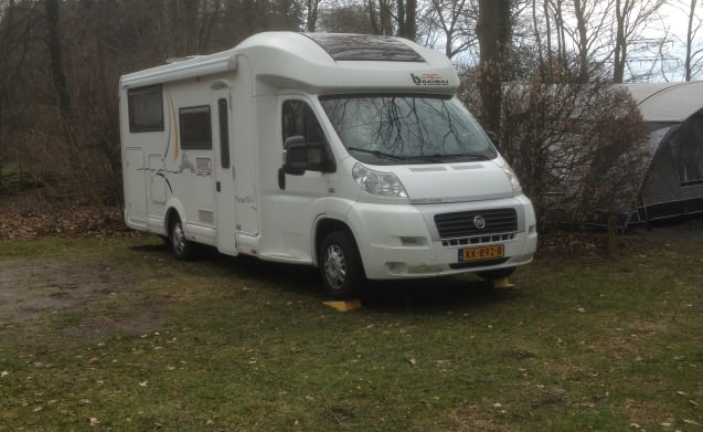 We rent our wonderful spacious camper when it is still