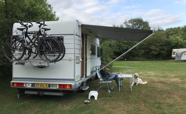 Hymer 584; complete, compact and yet a lot of space