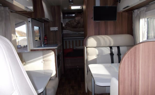 Fiat 7 berth Motorhome For hire Doncaster