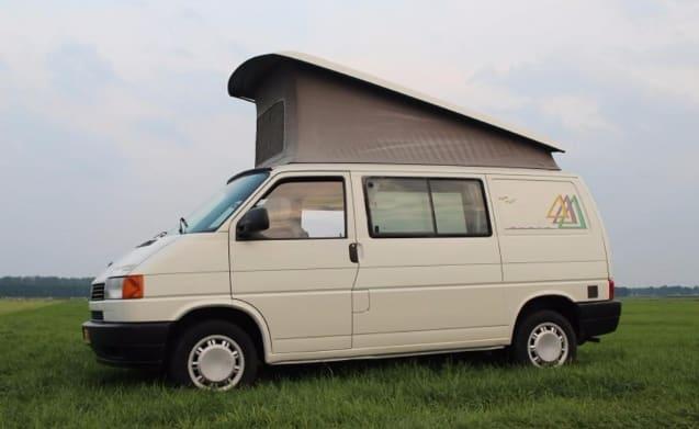 VW T4 Westfalia lifting roof