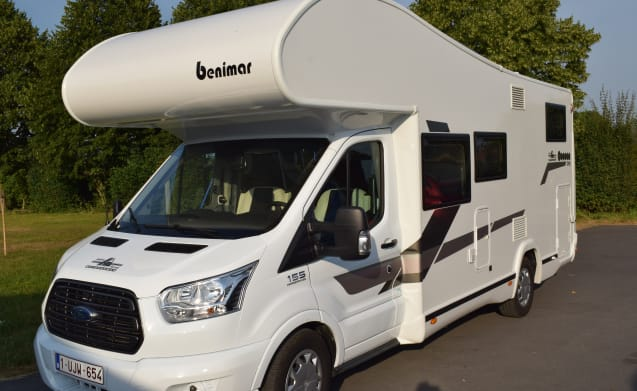 SR Mobilhome – Large family-friendly mobile home Benimar Cocoon 342