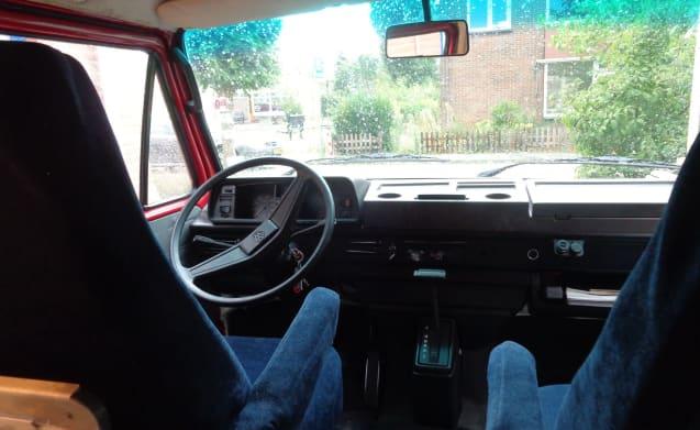 het rode draakje – Compact nostalgic Volkswagen van