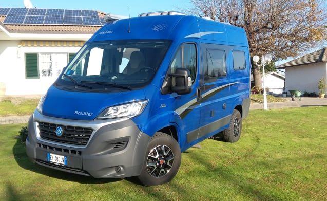 fabio – compact and handy camper perfect for the couple