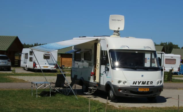 Cheap in late season enjoy Hymer integral dog!