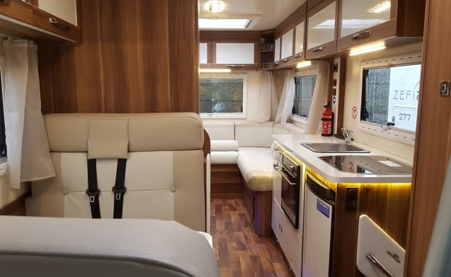 Luxury Scottish Motorhome Hire