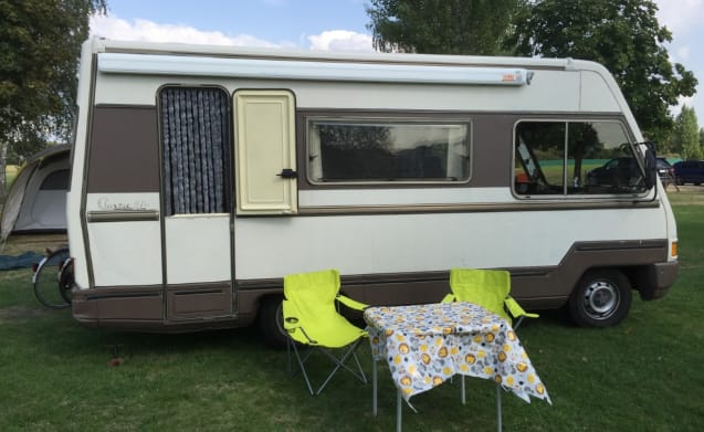 The Duke  – Fiat Ducato FFB Classic 570 - The Rolls Royce among the campers!