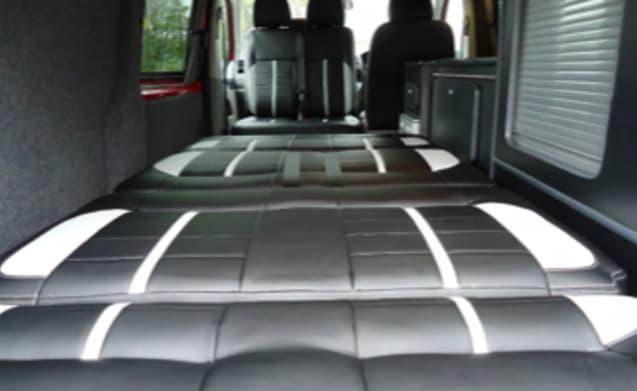 2011 VW Transporter T5 Camper Van (Ronnie Red Bus)