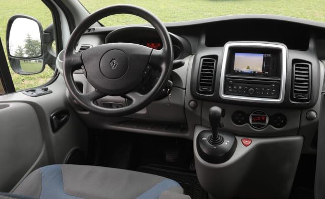 KIWI 3 – KIWI 3 Renault Trafic Eco with its own roof rack