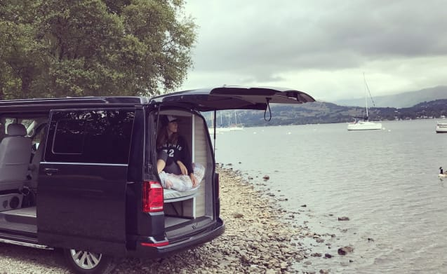 VW Campervan in the Lake District