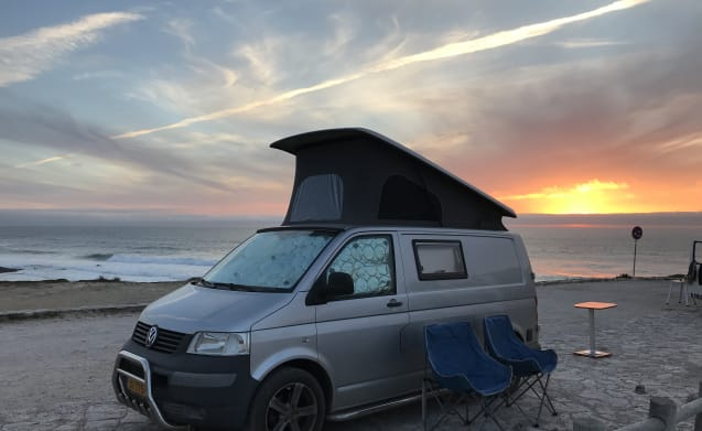 Adventure with a nice complete compact camper