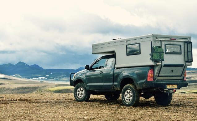 High luxe – Toyota Hilux 4x4 camper