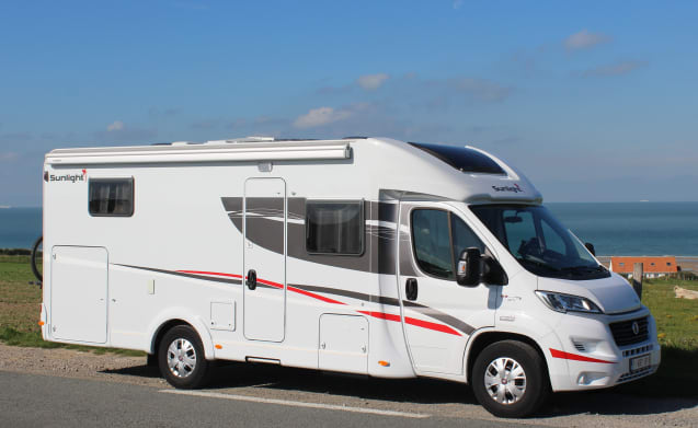 Jack Mobiel – Fully equipped camper for 2 to 5 people