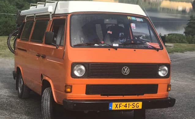 BOB-Mobiel – The BOB-Mobile VW T3 (with heating)