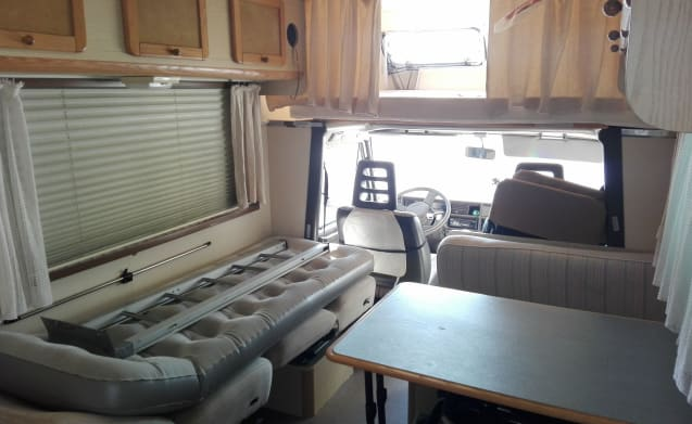 motorhome rental attic with all essential conford