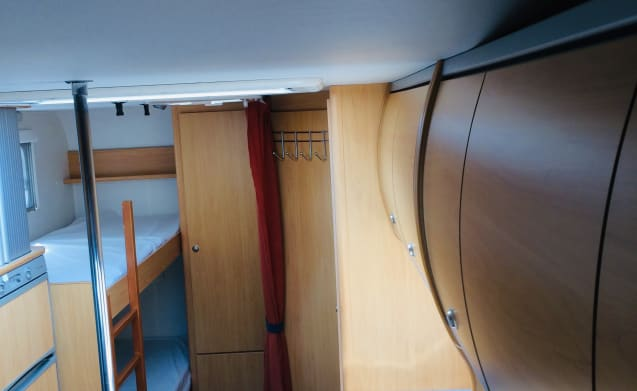 Cristall winner – A spacious neat camper
