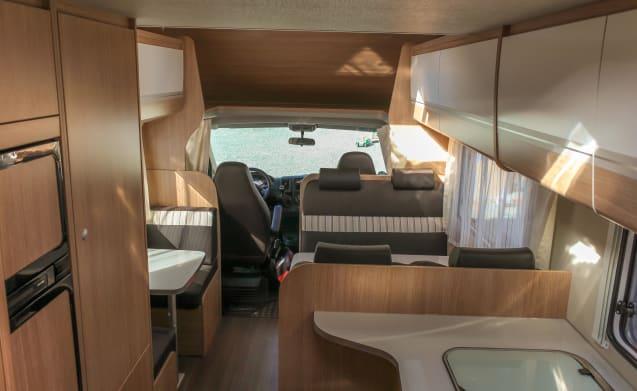 Sunlight A72 5 pers.met stapelbed, nieuw 2019 – 2019 !! ..... Buchen Sie jetzt einige Wohnmobile / Zeiträume
