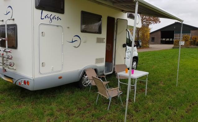 8 Fiat Mclouis Lagan 211 6-Personen-Camper
