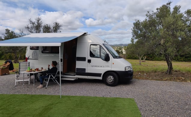 Portugal fly drive. Compact camper van ready for a new journey!