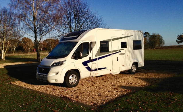 Mojo – Escape in our 5 Berth Motorhome - Norfolk