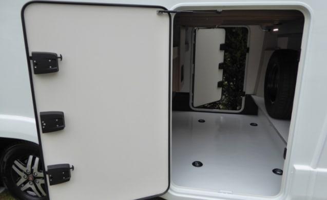 2019 Swift Kon Tiki 675 5000kg 4 berth 4 seat belts