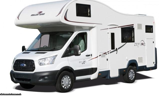 Ford Zefiro 675 1-6 berth  Motorhome (Wigan)