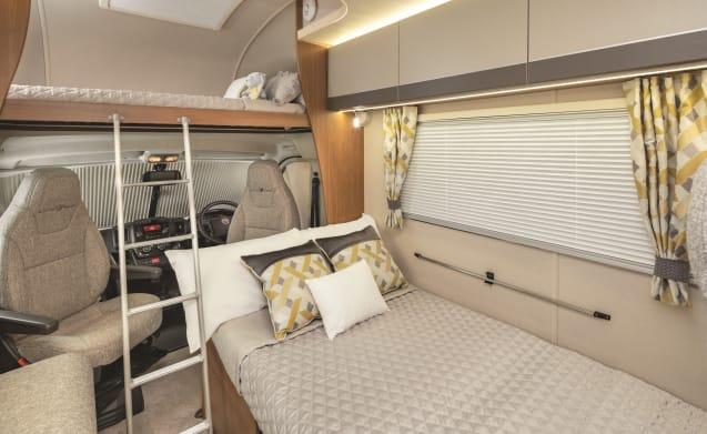 New Roomy 4 berth Tribute 615 (Liverpool)